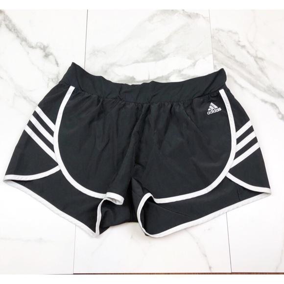 adidas Pants - Adidas• Black & White Running Shorts
